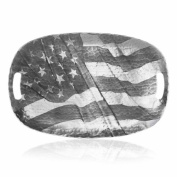 Wendell August Forge American Flag Luncheon Tray