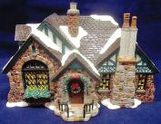 Department 56 - American Architecture Series - Snow Village - Tudor House - #56.55062 - Retired