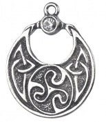 Boudica's Charm for Courage & Tenacity Celtic Sorcery Amulet Talisman Pendant