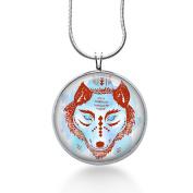 Wolf Trible Necklace, Jewellery, Wildlife, Womens,teens, Fun Pendant