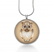 Owl Trible Necklace , Bird Jewellery, Necklaces for Women, Wildlife