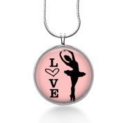 Ballet Necklace, Ballet Pendant, Dancer Jewellery, Fashion Jewellery, Gifts for Women