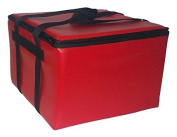 TCB Insulated Bags HGX-2-Red Insulated Catering Bag for Dome/Deli Trays, 60cm x 60cm x 37cm , Red