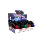 EAGLE TORCH 45 ANGLE SINGLE FLAME TORCH PT116A ASSORTED colours 7.6cm PACK OF 20