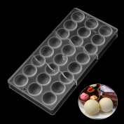 Grainrain DIY Golf Shaped Polycarbonate PC Chocolate Mould Candy Mould Jelly Maker