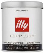 illy Dark Ground Espresso Coffee 125g