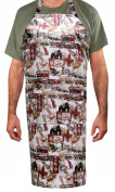 Two Lumps of Sugar Cabin in The Woods Adult Apron