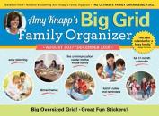 2018 Amy Knapp Big Grid Wall Calendar