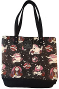 """The Nightmare Before Christmas Tattoo Print """"Sally Loves Jack"""" Tote Bag"""