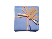 Cotton Folded Napkins - 10cm x 10cm - 20 units per pack - Sea Blue