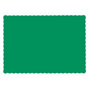 Hoffmaster 310526 Economy Placemat, 33cm - 1.3cm Length x 23cm - 1.3cm Width, Jade