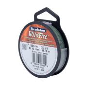 Beadalon Wildfire Beading Thread, .15cm /20-Yard, Green