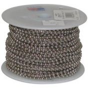 JANDORF SPECIALTY HARDWARE 88430 30m No.6 Brass plated steel Bead Chain