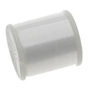 K.O. Japanese Nylon Beading Thread for Delica Beads, 50m, White