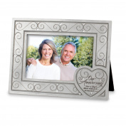 Lighthouse Christian Products Our Anniversary with Heart Frame, 10cm x 15cm