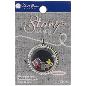 Blue Moon Beads Story Lockets Metal Charm, Troops, Assortment, 5-Pack