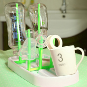 HENGSONG Bottle Drying Rack Kitchen Cup Rack Foldable