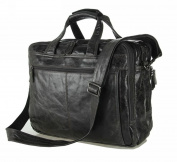 Jsix Mens Genuine Leather Handbags Briefcases Messenger Shoulder Bag