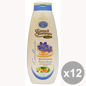 Set of 12 SURF of Champagne Bath 750 Ml. White Musk soaps and cosmetics
