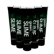 Moon Glow 500ml (100ml x5) Supersize Green Slime Tube - Halloween Fake Blood Vampire Zombie Theatre Stage Special Effects Makeup tube
