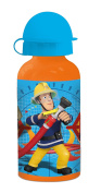 Fireman Sam Boys Aluminium bottle - blue