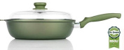 High CM28 Frying Pan with Lid Dr. Green