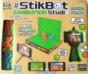 Toy Shed StikBot Zanimation Studio 2 in 1 Z-Screen Mega Stage (Magic changing screen) Mega Pack