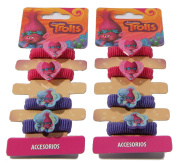 OFFICIAL TROLLS DREAMWORKS HAIR ACCESSORIES BOBBLES MINI SCRUNCHIES CHRISTMAS GIFT UK