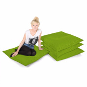 Comfy Square Floor Cushion-Olive Green