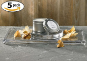 White Tea by Westin - Candle In A Tin - Aromatherapy Candle - 5 Tins