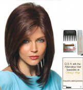 JACKSON by Noriko Wig, 15 Page Christy's Wigs Q & A Booklet, Wig Shampoo, Wig Cap & Wide Tooth Comb - Colour