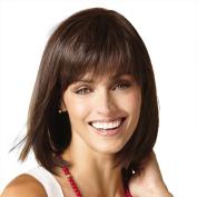 Styler Medium Lgenth Natural Straight Bob Wig Wigs for Women