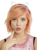 Pastel Plastic Cat Ear Headband Set