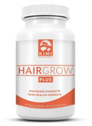 Hair Grow Plus - A Revolutionary Hair Growth Vitamin Formula with Biotin - Addresses Vitamin Deficiencies that could be the cause of hair loss in women & men