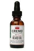 Cremo Revitalising Beard Oil, Astonishingly Superior, 30ml Bottle, Tea Tree Mint Scent