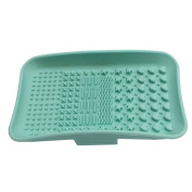 Happy Hours - Silicone Makeup Brush Cleaning Mat Pad Gloves / Newest Cosmetic Brushes Washing Scrubber Palette Board Tools