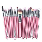 Lookatool 20pcs/set Makeup Brush Set tools Make-up Toiletry Kit Wool Make Up Brush Set