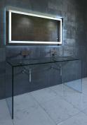 Nezza NLM-001-036 Lavva Contemporary Illuminated LED Bathroom Mirror, 90cm