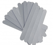 Safetz Anti Slip Clear Non Skid Bath & Shower Safety Treads Self-Adhesive Stickers - 24 Pack