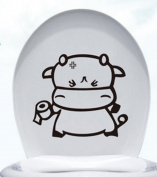 Da.Wa PVC Waterproof Toilet Wall Bathtub Sticker