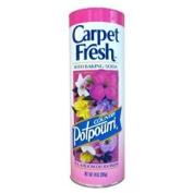 Carpet Fresh Rug & Room Deodorizer with Baking Soda, Country Potpourri 410ml
