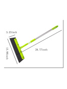 WJL Wipe and Dry 36cm Floor Squeegee with 110cm Handle