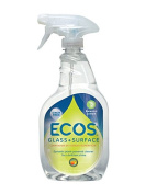 Earth Friendly Products Window Cleaner, Bamboo Lemon, 650ml
