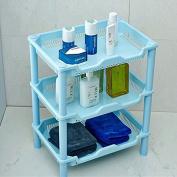 Windspeed 3-Tier Shelf for Bathroom Shelving Soap Storage Holder Shelf Rack