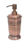 BathSense CM1390 Copper Refillable Bathroom Soap Pump Dispenser & Lotion Dispenser, Copper
