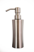 Liquid Soap Dispenser, Lotion Dispenser, Stainless Steel, Modern and Rust Free to Enhance your Countertop and Encourage Hand Washing now by Flourish Homewares