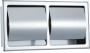 LINA@ Stainless steel wall-mounted waterproof dual-use metal-bathroom tissue box