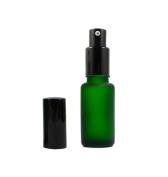 3Pcs 15ml Ground Glass Emulsion Bottle Spray Bottle Split Charging Bottle Cosmetic Container Pressing Bottle Great for Essential oil Emulsion Essence Storage
