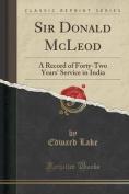Sir Donald McLeod