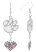 Special Edition Clemson Love Pink Collection Dangle Earrings